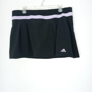 Adidas black and lavender athletic skorts size XL